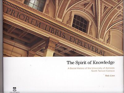 THE SPIRIT OF KNOWLEDGE : UNIVERSITY OF ADELAIDE  - LINN South Australia bL