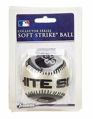 Franklin MLB Team Soft Strike® Baseballs - Chicago White Sox - Baseball