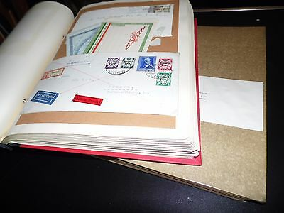 WW / Airmail Letters & cards, About 160 item´s from collector's estate (3731