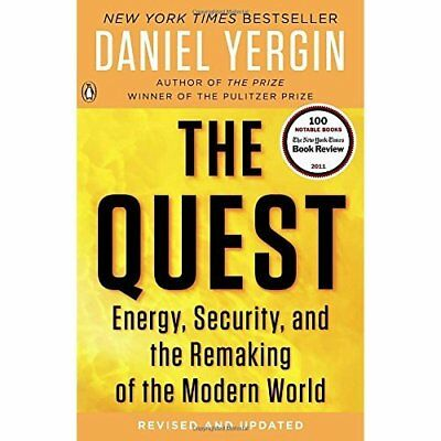 The Quest: Energy, Security, and the Remaking of the Mo - Paperback NEW Yergin,