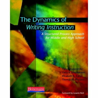The Dynamics of Writing Instruction: A Structured Proce - Paperback NEW Peter Sm