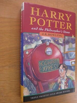 Harry Potter And The Philosopher's Stone - J K Rowling - SIGNED Early HB 1ST ED