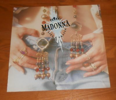 Madonna Like a Prayer Poster 2-Sided Flat Square Promo 12x12
