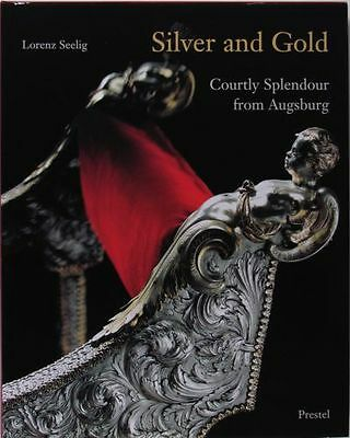 Antique Renaissance Baroque Augsburg Bavarian Silver & Gold -A Beautiful Book