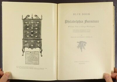 Antique American Philadelphia Furniture - 1st edition 1935 Hornor Classic Book