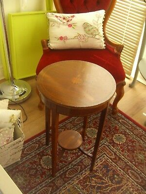 Nice Small Mahogany Colour Side Table