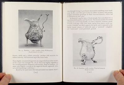Antique English Sterling Silver Cream Jugs - Munro Collection 1952 Catalog