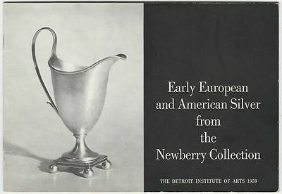 Antique American & English & French Silver - 1959 Newberry Collection Exhibit