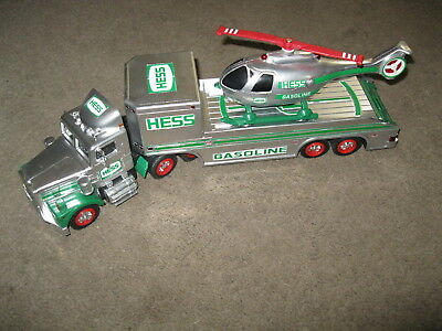 Home made 1995 Hess Chrome helicopter truck
