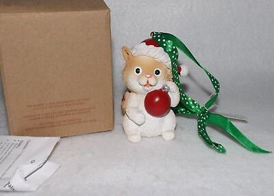 Avon My Cat Personalized Christmas Ornament EUC MIB