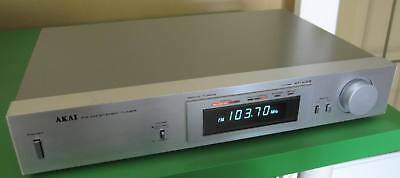 Akai AT-K03 Servo AM/FM Stereo Tuner Vintage 1980 Made in Japan