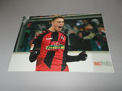 Janik Haberer DFB  SC Freiburg signed signiert Autogramm 20x28 Foto in person