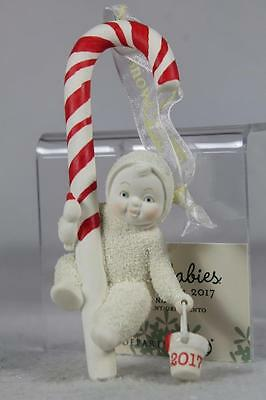 Snowbabies Dept 56 'Candy Striper' Dated 2017 Ornament #4058532 New In Box