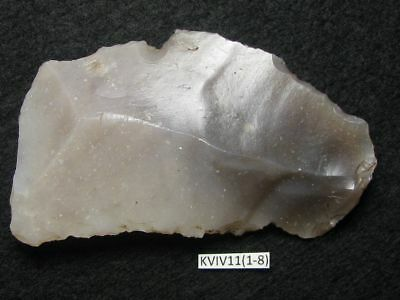 5600Y.O: WONDERFUL SICKLE 72mms DANISH STONE AGE NEOLITHIC FLINT FUNNEL BEAKER