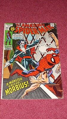 AMAZING SPIDER-MAN #101 (Marvel, 1971, VG/VG+) NR!