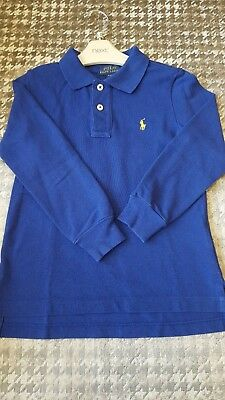 Boys Ralph Lauren Long Sleeve Polo Top age 4 / 4T