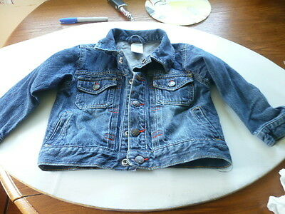 Wonder Kids  Jean Jacket Size 3T  CUTE ~~~~~~~~~~