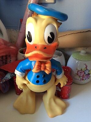 Donald Duck Large Rubber Jointed figure