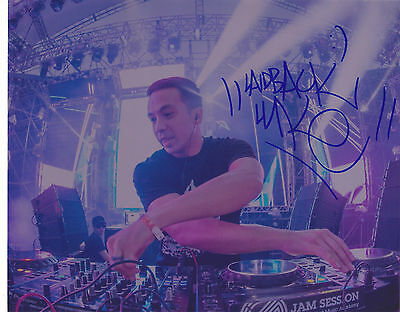 Laidback Luke Signed Autograph Edm Dance Trance 8X10 Photo  Proof #3