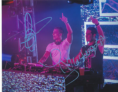 Blasterjaxx Signed Autographed Edm Dance Trance House Music 8X10 Photo Proof