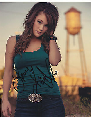 Kira Isabella Signed Autographed Sexy Hot Country Music 8X10 Photo  Proof #2