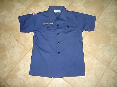 Cub Scout Uniform Short Sleeve Shirt Youth Medium