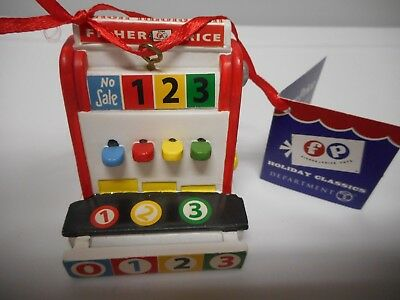 Department 56 - Fisher Price Cash Register -  Ornament - New