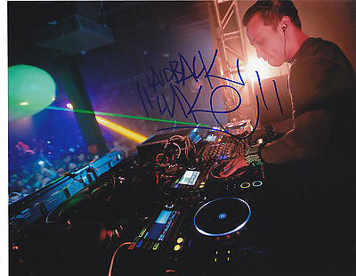 Laidback Luke Signed Autograph Edm Dance Trance 8X10 Photo  Proof