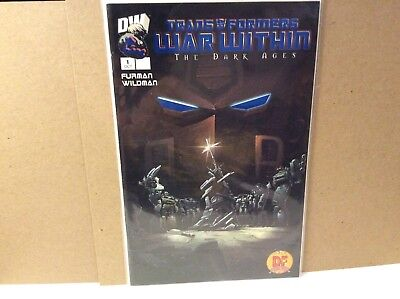 Transformers The War Within #1 Rare Blue Foil Exclusive Df Variant With Coa