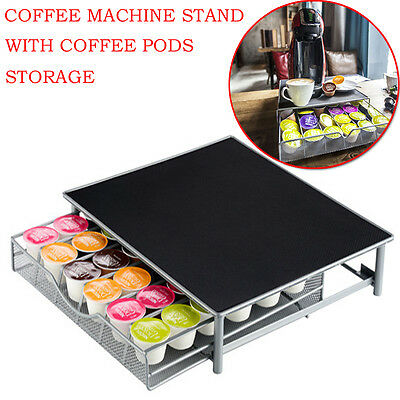 2Pcs 36 Dolce Gusto Coffee Pod Capsule Stand Holder Drawer Rack Organiser Home