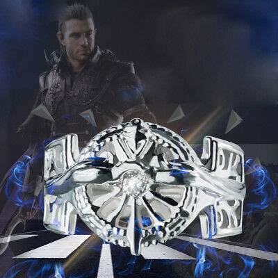 Final Fantasy XV FF15 Kingdom of Lucis 925 Silver Finger Ring 63mm Gift New
