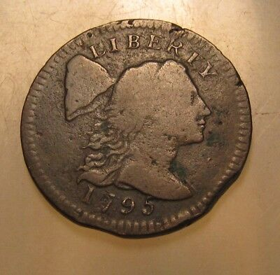 1795 Flowing Hair Large Cent Penny - S-76b - NICE Condition - 135SU-2