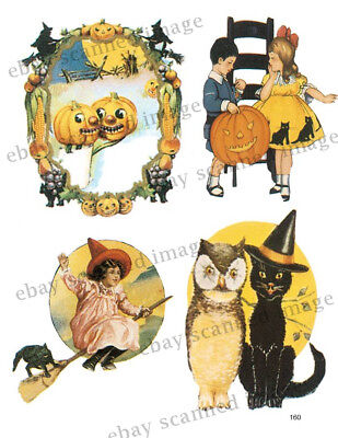 Halloween Card Collage Sheet ~Cards & Crafting        C158