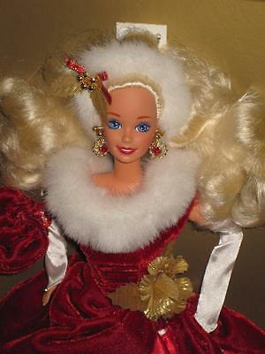 1995 PEPPERMINT PRINCESS Barbie Doll Winter Princess Collection  #13598 NRFB