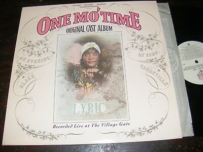 One Mo' TIME An Evening of Black 1920's Vaudeville LP WARNER 80 JABBO SMITH Clen