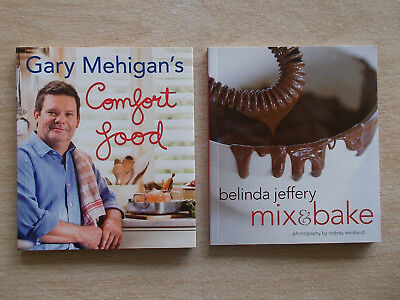 2 x Mini Cookbook Collection~Belinda Jeffery & Gary Mehigan~2 x 60pp