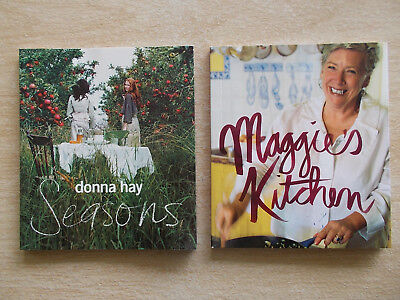 2 x Mini Cookbook Collection~Donna Hay & Maggie Beer~2 x 60pp