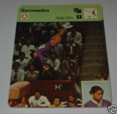 Gymnastics - Nelly kim SC Collector card