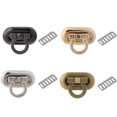 1PC DIY Metal Clasp Turn Lock Twist Lock for Handbag Craft Bag Purse Hardware