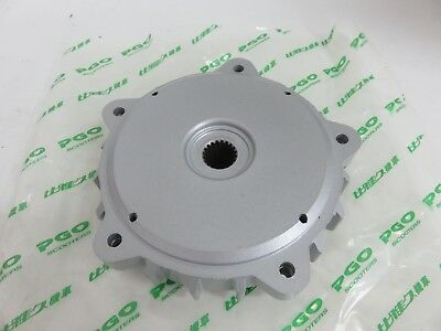 OEM PGO Buddy 125, T-Rex 125/150 - Rear Wheel Hub (Silver) PN C2407131770