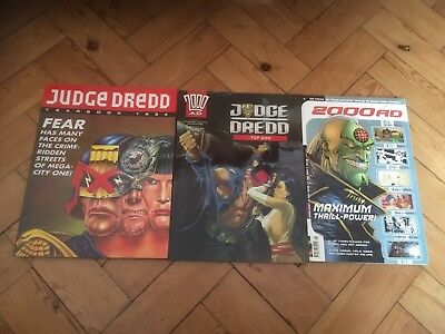Judge Dredd & 2000AD Yearbook And Annuals 1993, 1994, 2001 Comics