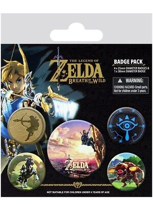 The Legend of Zelda Breath Of The Wild The Climb Badge Pack