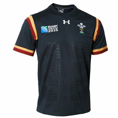 Wales Rugby World Cup 2015 Away Youth Replica Shirt