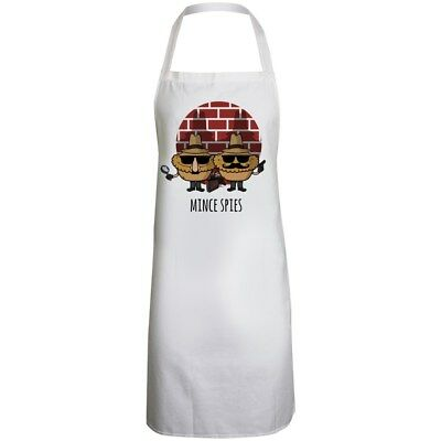 Mince Spies White Apron