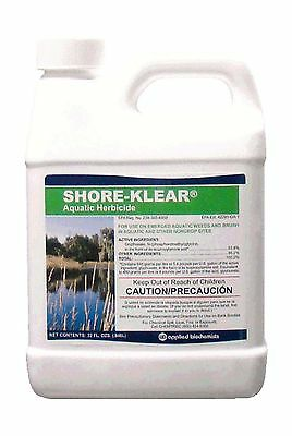 Shore-Klear Aquatic Herbicide Water Treatments 32 FL.OZ 0.25 gallon