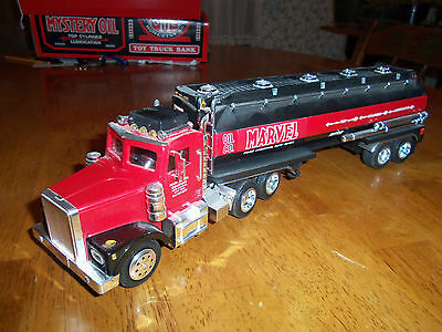 Marvel Mystery Oil Tanker Truck-Lights, Sound - Bank 'Taylor Trucks'