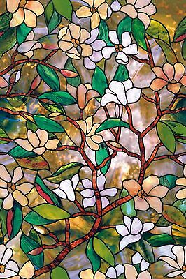 Magnolia Window Film 24-by-36-Inch Magnolia