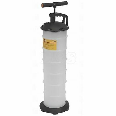 Vacuum Oil Extractor Pump Action - 6 Litre