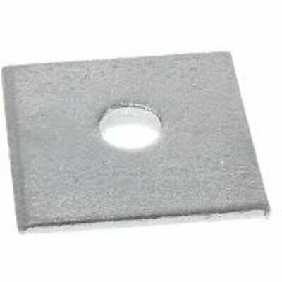 Square Plate Washer M25 Hole - 100mm x 100mm (each)