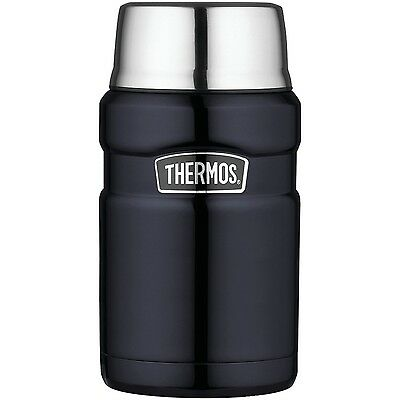 Thermos Stainless Steel King 24 Ounce Food Midnight Blue 1 Thermos
